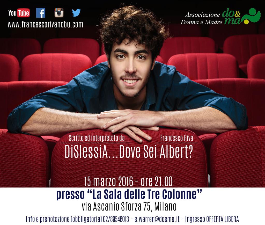 Do&Ma Francesco Riva Dislessia