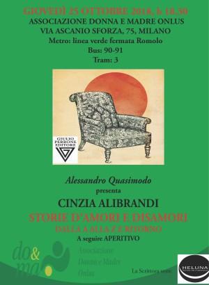 Presentazione libro Cinzia Alibrandi